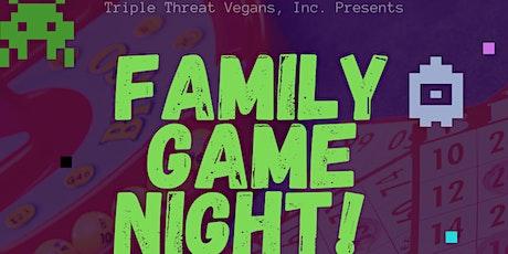 Vegan Family Game Night tickets