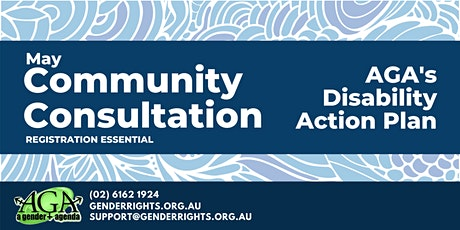 Community Consultation: Disability Action Plan for AGA tickets