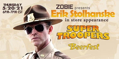 Erik Stolhanske Autograph In-Store Appearance at Zobie HQ tickets