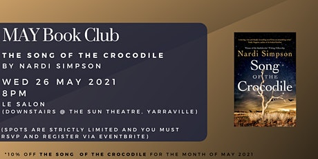 May Book Club - SONG OF THE CROCODILE by Nardi Simpson tickets