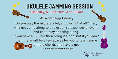Ukulele Jamming Session @  Wonthaggi Library tickets