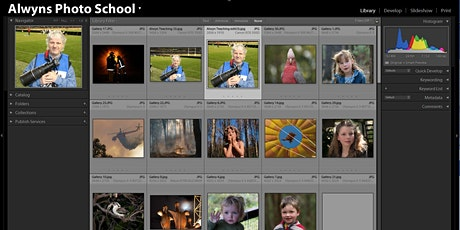 Photography Course 21 Lightroom Classic Part 2-The Next Step tickets
