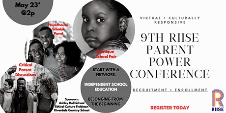 9th RIISE Parent Power Conference [Virtual] tickets
