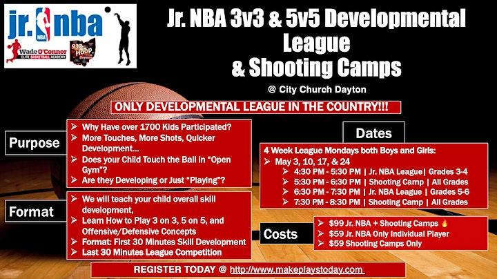 NBA  & Shooting Camps - Make Plays Today - Spring 2021 image