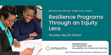A Town Hall Discussion: Resiliency Programs through an Equity Lens tickets