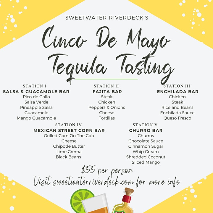Cinco de Mayo Tequila Tasting at SW Riverdeck image