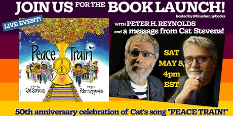 Peace Train Book Launch Party with Peter H. Reynolds tickets