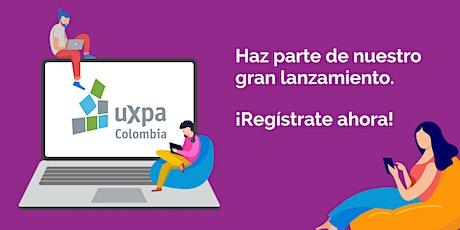 Lanzamiento UXPA Colombia entradas