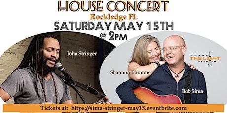 House Concert with Bob Sima & John Stringer tickets