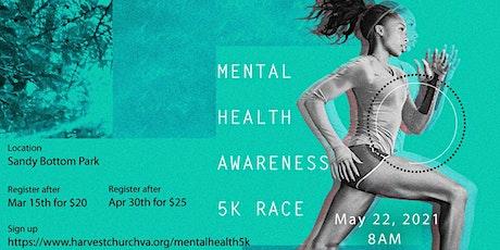 Mental Health Awareness 5K Walk/Run tickets