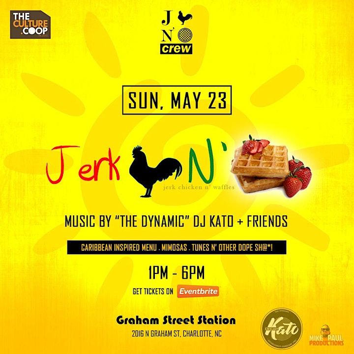 Jerk Chicken N' Waffles Brunch: The Grand Return, May 2021 image