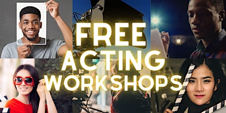 FREE - How to GROW your ACTING CAREER - Online Acting Workshop tickets