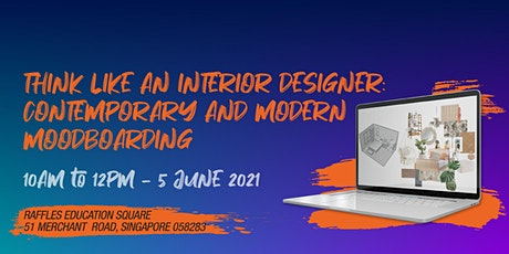 Design Inspiration: Interior Design Workshop 2021 tickets