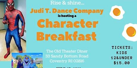Character Breakfast tickets