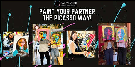 Paint and Sip Event - Paint Your Partner The Picasso Way! tickets