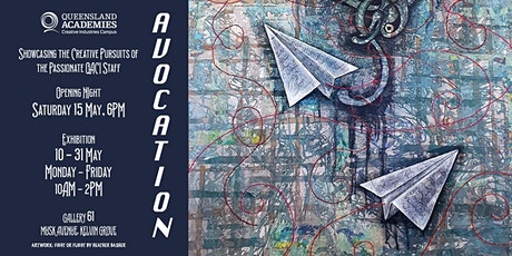 Avocation - Staff Exhibition Opening Night tickets