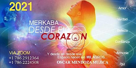 TALLER MERKABA DESDE EL CORAZON - ZOOM boletos