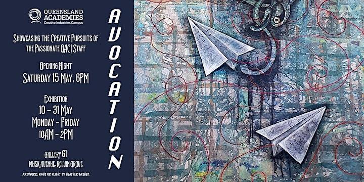 Avocation - Staff Exhibition Opening Night image