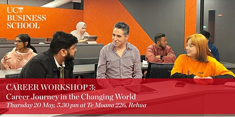 Career Workshop 3:  Career Journey in the Changing World tickets