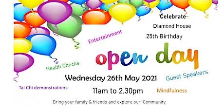Diamond House 25th Birthday & Open Day tickets