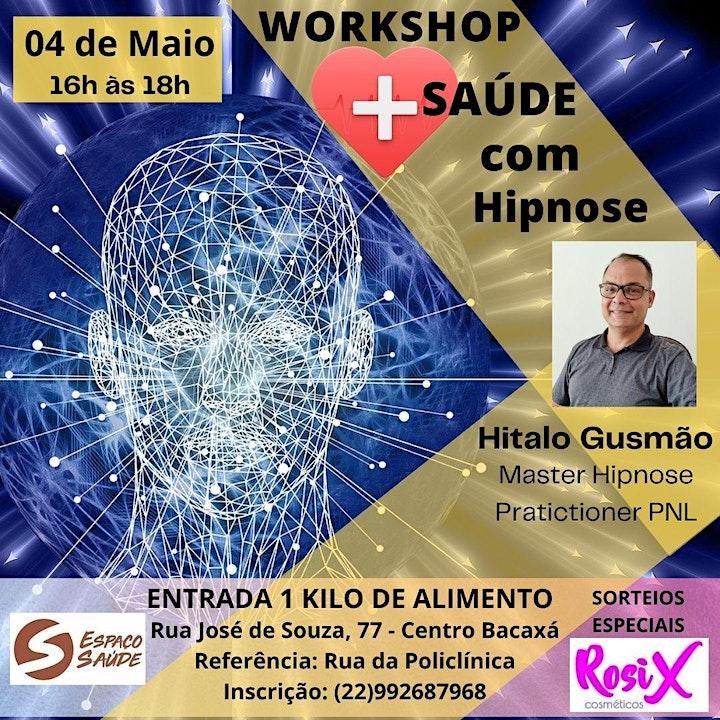 Imagem do evento Workshop +Saúde com Hipnose