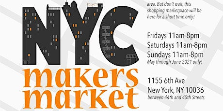 VENDORS MAKERS NYC. tickets