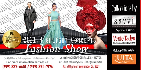 2021 Highlight Concepts Fashion Show tickets