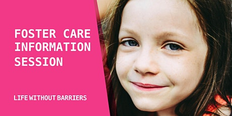 Live Foster Care Information Webinar - NSW tickets