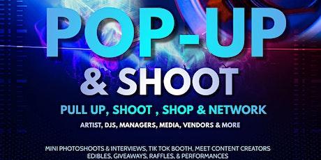 POP-UP & SHOOT (vendor event) tickets