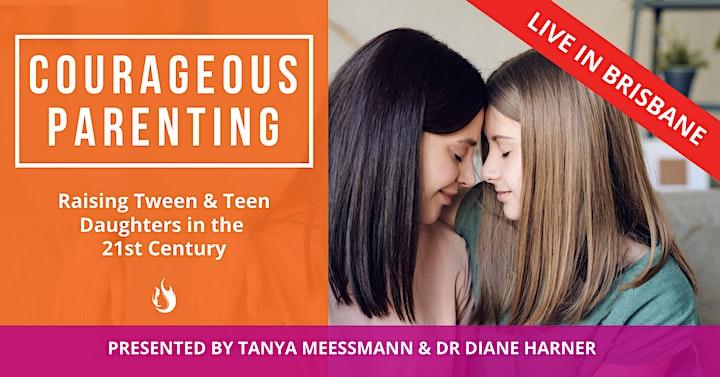 Courageous Parenting (Raising Tween & Teen Daughters) image