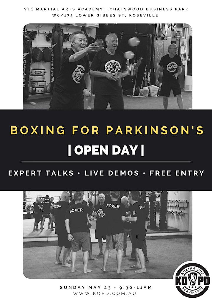Knock Out Parkinson's Disease (KOPD) Open Day 2021 image