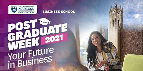 Postgraduate Week 2021: Your Future in Business tickets