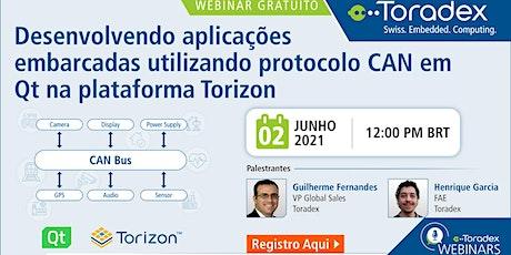 Desenvolvendo aplicações com CAN e Qt na plataforma Torizon ingressos