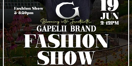 Blooming Into Juneteenth with Gapelii Brand tickets