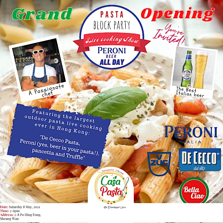 CasaPasta by Ermanno Lelli, Grand opening event image