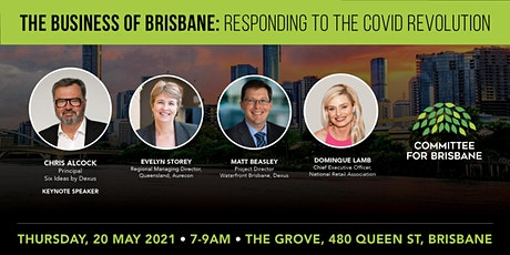 The business of Brisbane: responding to the COVID revolution tickets