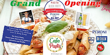 CasaPasta by Ermanno Lelli, Grand opening event tickets