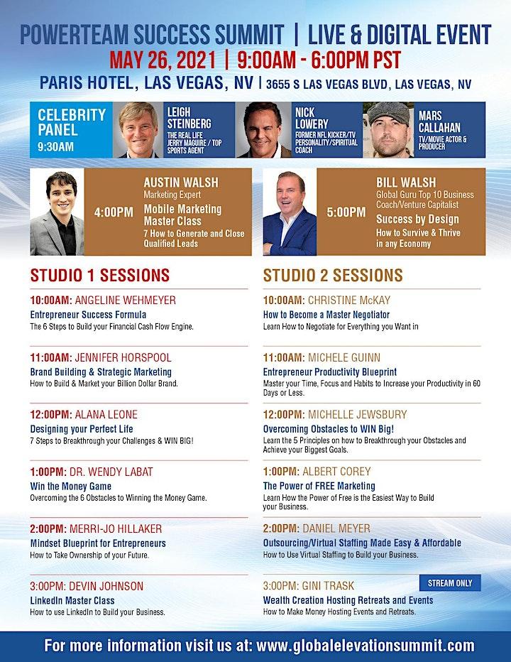 Global Elevation Success Summit Las Vegas image