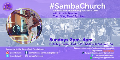 SambaFunk! Safe Distancing Outdoor Dance Pop-Ups tickets