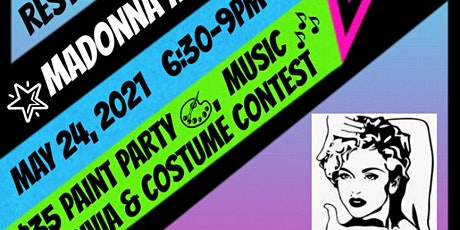 Artistic Elements Studio Celebrate Madonna Paint, Trivia & Costume Contest tickets