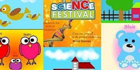 Kids Online Graphic Designing  5 day Camp tickets