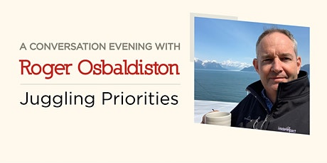 Conversation Evening: Juggling Priorities tickets