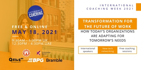 Transformation For The Future Of Work Tickets
