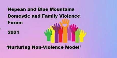 Nurturing Non-Violence Model NBM DV Forum 2021 tickets