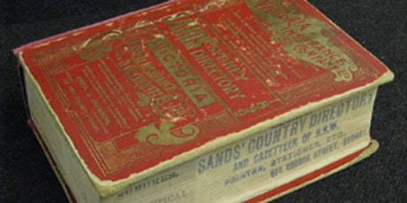 Uncovering the past with Sands directories tickets