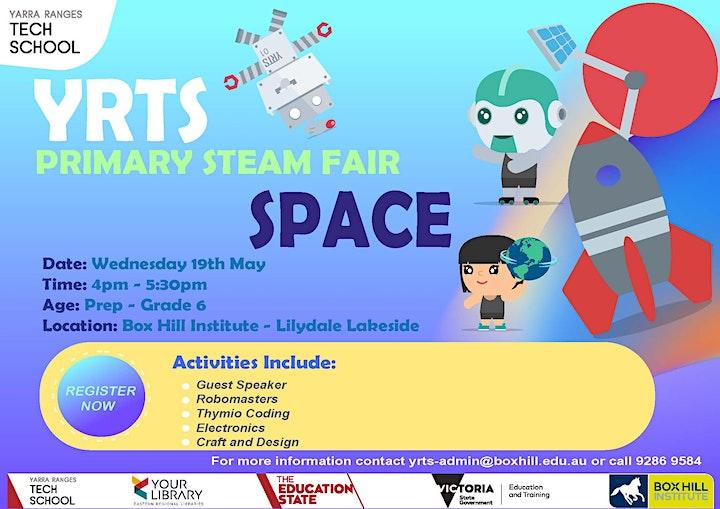 Yarra Ranges Tech School Primary STEAM Fair image