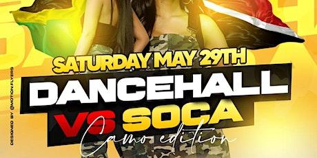 Dancehall vs Soca tickets