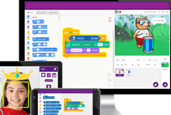 Kids Online Artificial Intelligence with Scratch 5 day Camp tickets