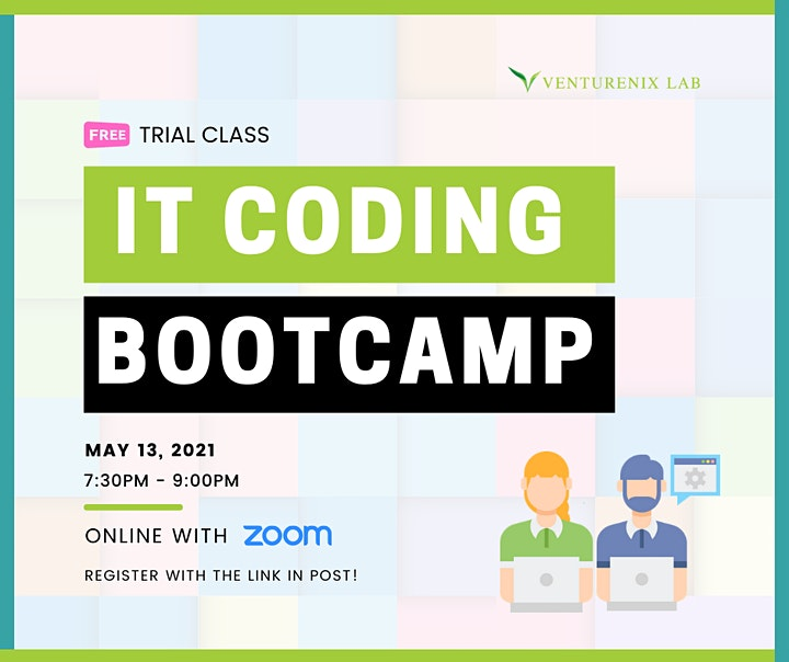 Free Trial Class:  IT Coding Bootcamp for Beginners image