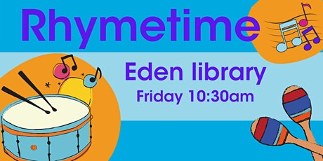 Rhymetime at  Eden Library tickets
